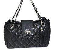 Free shipping ,Minimum quantity 1  piece,2011 fashion new Crocodile grain handbag, female Single shoulder bag