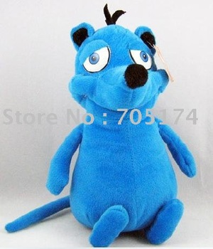 Horton & Anonymous Doll Blue Bear plush Doll velboa Toys 30CM
