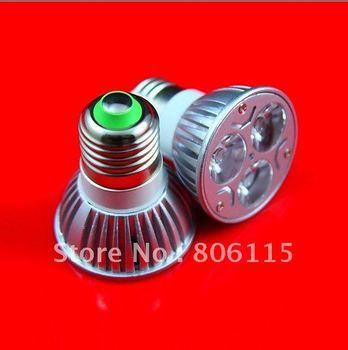 GU10 (E27 E14 B22 MR16 GU5.3) 3W High power led bulbs Warm White/Cold white AC85-265V