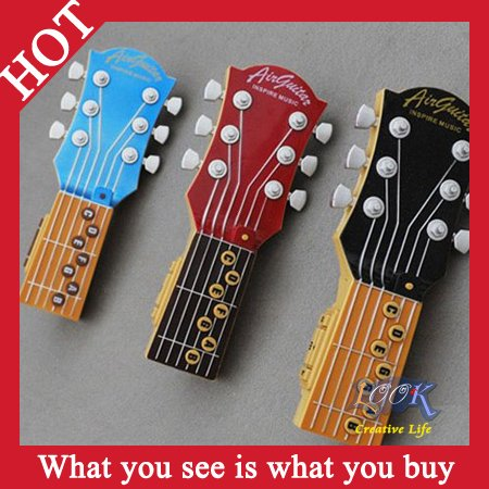 Free Shipping! 6pcs/lot Hot Selling Air guitar Electric Toys Music Instrument Guitar -- PW06 Wholesale & Retail(China (Mainland))