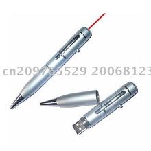 5pcs/lot 3in1 Laser USB Pen Driver Disk 4GB (Black & silver)(Hong Kong)