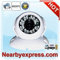 Factory Direct Adjustable Dome Surveillance Camera with SONY 1/3 CCD (88-36006-010)