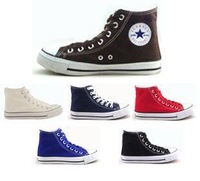 Free shipping 2011 European style ladies' lace-up ankle canvas shoes rubber hole EUR SIZE 34 35 36 37 38 39 40 41 42 43 WFS008