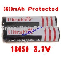 Free DHL/FEDEX 18650 3000mAh 3.7V Protected Rechargeable battery