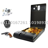 Free shipping  guaranteed 100% +wholesale and retail+Fingerprint Access Safe - Executive Biometric Security Box