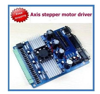 4 Axis CNC Driver Board (Stepping motor driver board) for Stepper Motor Mill Router EG2048