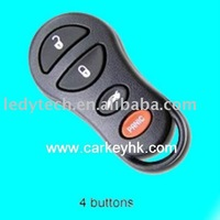 30pcs/lot wholesale high quality Chrysler 4 buttons remote case