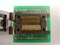 Free Shipping CHIP PROGRAMMER SOCKET SOP28 with cover