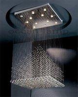 crystal celing lamp OM756 L80 W80 H150cm