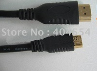 100pcs 12Feet 3M High Speed Mini HDMI Cable A to C Type 1080p For MID HD DV Free shipping