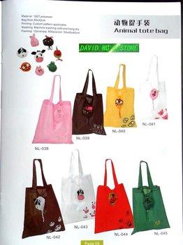 Free shipping via DHL/UPS,animal tote bag, shopping bag, high quality, wholesale 1200pcs/lot