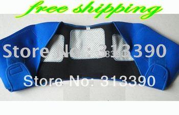 tourmaline Automatic heating shoulder neck massage massager Far infrared free china post shipping