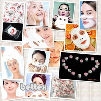Free Shipping New Skin Face Care whitening/ hydrating DIY Facial Paper Compress Masque Mask/ facial mask/ face pack face mask
