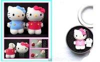 Free Shipping-8GB of Hello kitty cat shape U disk, high-speed USB flash drive, U disk gifts