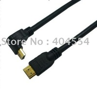 Free shipping 100pcs 12FT 3M High Speed 1080P HDMI Cable A To A Type