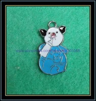 free shipping 100pcs/lot,wholesale and retail pig charms,enamel charms,alloy charms,pendant,best jewelry accessories