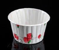 1000pcs little round white cake cups ,cupcake cases ,bake cup,muffin cases,baking cup, -free shiping by EMS