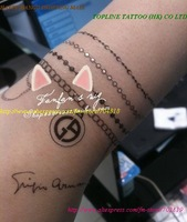 2011 tattoo sticker summer  ,FREE SHIPPING New arrvial CHAINS PEARL BIRD Flower HOOK BODY SKIN ART TEMPORARY Waterproof  sticker