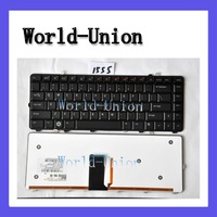New laptop Keyboard  for Dell Studio 1555 1557 series laptop backlit US Black NSK-DCM0M ,Free shipping