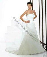 Embroidered Elegant Off-Shoulder Floor-Lenght A-Line Wedding dress,Bride Dress,Custom Size and Color