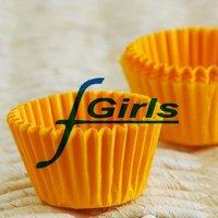 Yellow Small tart /cake /chocolate paper cases cupcake cake liner, total Diameter is 6cm , 6500pcs/box