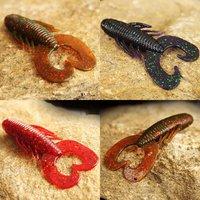 Free shipping, 4bag/lot, Fishhunter Fishing Soft lure,Horn worms,80mm/8g,5pcs/bag