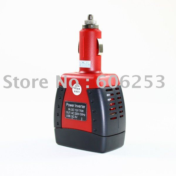 Power Car Charger Inverter Adapter 12V DC to 110V AC(China (Mainland))