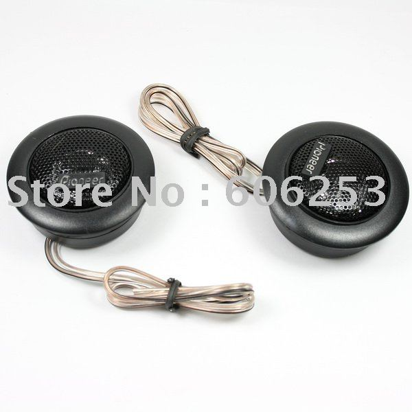 2 X Dome Tweeter Component Speaker for Car Stereo Audio(China (Mainland))