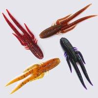 Free shipping, 4bag/lot, Fishhunter Fishing Soft lure,Sharp feet cricket,68mm/2.3g,12pcs/bag