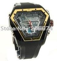 ANIKE AK1046  50m Waterproof Sports Watch(black)  Men's Watch.free shipping