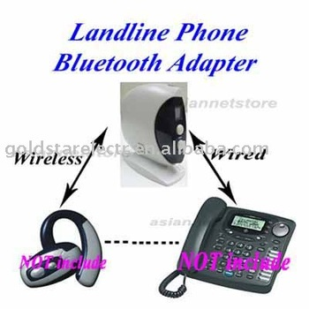 Bluetooth Landline Phone Adapter Bluetooth dongle BTA-320  White box Free Shipping by DHL. UPS EMS