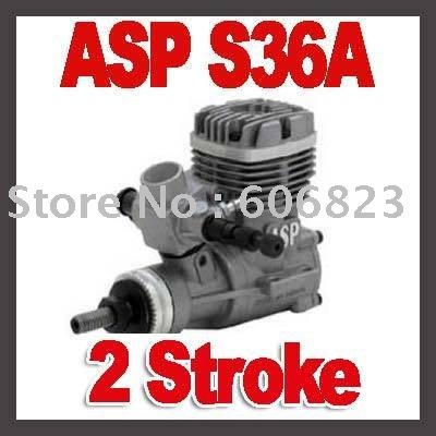 New ASP (Sanye) 2 Stroke S36A Glow Engine for Airplane(China (Mainland))