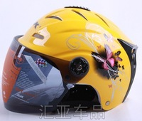 sell summer helmet motorcycle half face helmet open face helmet ABS material