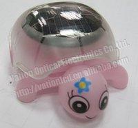 Free Shipping &Hot sale:Solar Energy Powered Tortoise,Toy Gift,Solar Engery Toy,Mini tortoise,Pink