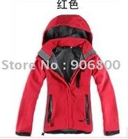 Cheap New Woman Apex Bionic red Wholesale Jackets Hoodies soft shell denali fleece Jackets Hoodies