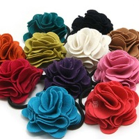 FREE SHIPPING Fashion Rose hair flowers,100pcs/lot,Ladies hair clips
