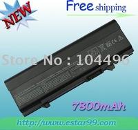 Free Shipping & 9Cell  7800mAh Battery For Dell Latitude E5400 E5500 KM769 KM742