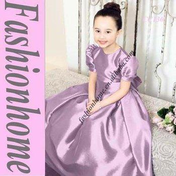 Cap sleeve Infant formal dress , Pageant girl dress CC130