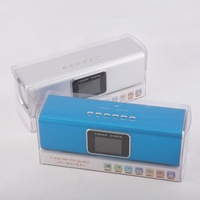 Free shipping 5pcs/lot Music Angel Sound Box UK5 Portable Mini stereo Speaker for Mp3 Mp4 Ipod PC