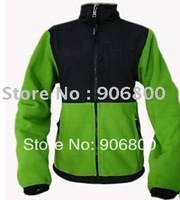 2013 North American Denali Fleece  Green Fashion Outdoor sport Jackets hoodie free shipping for women jacket coat