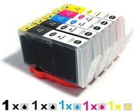 5PCS (1set) ink cartridges for HP 564XL HP 364 XL PHOTOSMART C5324 HP364 B8550 B8553 C6300 C6380 C5300 D5460 D5463 D7560 B109a
