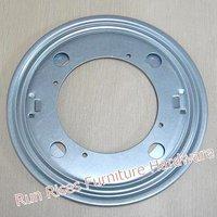9 inch galvanized steel round table swivel on sale