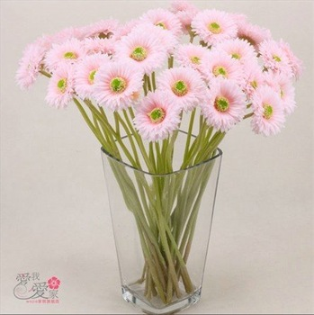 New arrival beautiful silk flowers sun flowers crafts chinoiserie chrysanthemum artificial flowers gifts for kid's 9pcs/lot