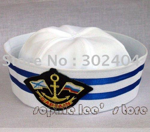 Frete Grátis 4 estilo do chapéu chapéu boné Moda capitão cap Skipper marinheiro da marinha(China (Mainland))