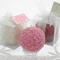 Wholesale Rose Ball Candle / large size / Wedding candles / Valentine's Day Gifts / Romantic candles