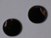 Laser focus lens Black lense Dia:20mm FL:100/75mm