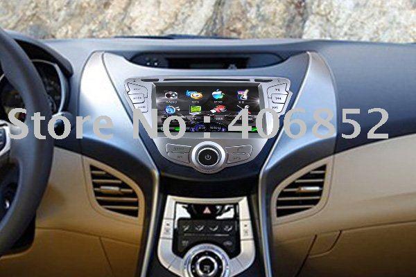 DVD player do carro com GPS para o HYUNDAI ELANTRA / AVANTE / I35(China (Mainland))