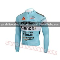 2010 bianchi Only Long CYCLING JERSEY SIZE S~XXXL dropshipping
