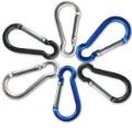 2000pcs/lot Hoist shape aluminium carabiner Mountaineering buckle Key Chain Hook 5CM 8colors