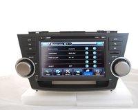 8 inch special car dvd player for Toyota Hihglander GPS system